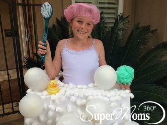 Super Moms 360 Article Holiday And Seasonal Fun Bubble Bath Costume