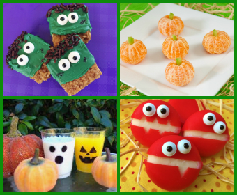 seasonal holiday ideas click the titles below to read the full story hauntingly healthy halloween parties - Halloween Crafts For The Classroom