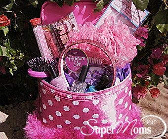 Super moms 360 article holiday and seasonal fun colorful this beauty easter basket brings out the girl in all of us and is perfect for divas of all ages negle Choice Image